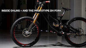 Prototype Downhill Fork for Mountainbike