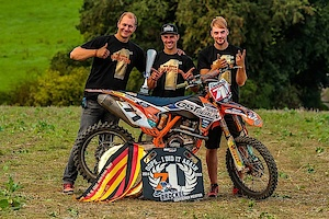 Christian Brockel is DM Open Champion 2015... on Öhlins suspension