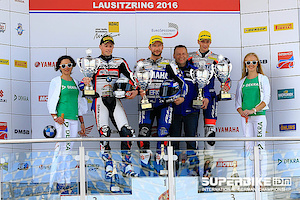 Phenomenal results at IDM Superbike, Lausitzring