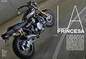 LA PRINCESA - Umbau einer Kawasaki Z900 auf Öhlins