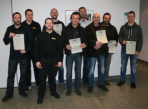 First dealer training 2017 at Öhlins DTC successful performed