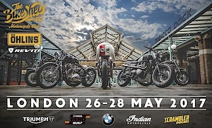 The Bike Shed 2017 in London - we are part of it!