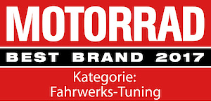 """Öhlins receives 12th """"Best Brand"""" award from MOTORRAD magazine"""