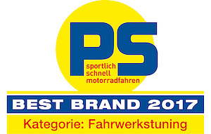 Öhlins proudly announces 1st place at the Leserwahl 2017 of PS magazine