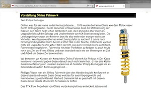 Test report on Öhlins TTX Flow on www.supercross.at