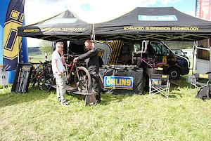 Öhlins at the Ziener Bike Festival in Willingen