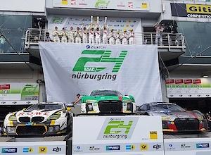Grandioser Erfolg für Öhlins beim ADAC Zurich 24h-Rennen am Nürburgring