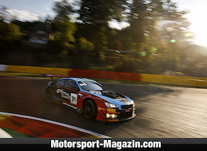 Golden podium at the 24h race in Spa